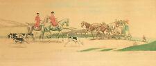 I2-018. PAIRE DE COULEUR IMPRESSIONS. SIGNÉ PIERRE PINSARD. FRANCE. CIRCA 1906.