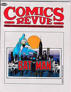 """Comics Revue Vol 1 No 41-1989-Strip Reprints- """"Bat Man Cover!  """""""