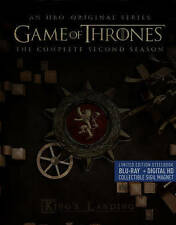 Game Of Thrones: The Complete Second Season Blu-ray . sealed, free shipping