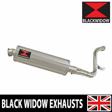 KTM RC 125 RC 200 De Cat Exhaust Silencer Oval Stainless Steel 400SS 2011-2016