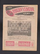 1960 - QRL/BRL THE RUGBY LEAGUE NEWS - VOL XXX No 5