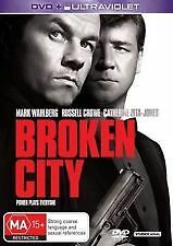 BROKEN CITY - BRAND NEW & SEALED R4 DVD + UV COPY (MARK WAHLBERG, RUSSELL CROWE)