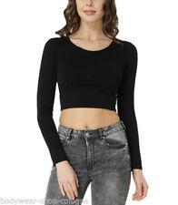 Maglie e camicie da donna a manica lunga in misto cotone taglia XS