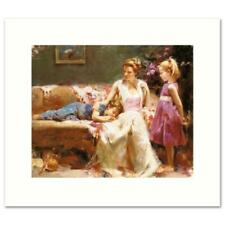 """Pino """"A Time to Remember"""" Signed Limited Edition Giclee on Canvas"""