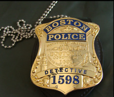 Boston Metal Badge, Usa Metal Badge Brooch Pin