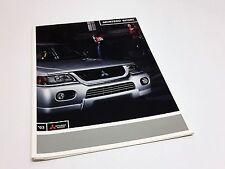 2003 Mitsubishi Montero Sport Brochure