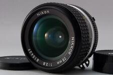 Mint  Nikon Ai-S AIS NIKKOR 28mm F2.8 Manual Focus lens  MF From Japan 63