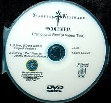 STABBING WESTWARD Promotional Music Video Record Company Reel DVD RARE Nothing