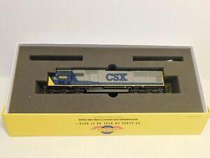 Athearn HO G6161 CSX SD70M Diesel Locomotive #4699 Spirit of Miami