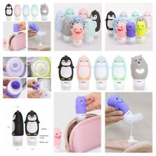 Silicone Travel Bottles Leak Proof Refillable Squeeze Tube Travel Accessories