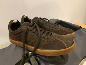 OFFICINE CREATIVE MEN'S 'KARMA 007' EUR 43 SHOES BROWN SUEDE LEATHER BRAND NEW