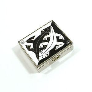 """Vintage ACME Studio """"1941"""" Pill Box by M.C. Escher"""