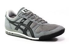 Asics Onitsuka Tiger Serrano Trainers Shoe  Men Size 8.5 Grey Suede Black HN201