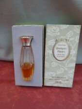 """Ancien parfum minature  """"Quelques Fleurs """" Houbigant  3.5 cc Boite d'origine"""