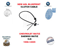 Pour Chevrolet Matiz Daewoo Matiz 0.8i 1998- >2005 Neuf Plan Embrayage Câble