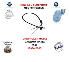 PER CHEVROLET MATIZ DAEWOO 0.8i 1998- > 2005 NUOVO Blueprint CAVO FRIZIONE