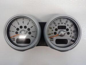 Mini Cooper Speedometer Tachometer Chrono 62116932518 02-06 R52 R53 225