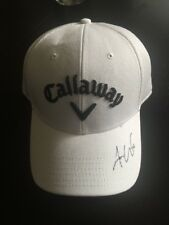 Aaron Wise Signed Callaway Golf Hat