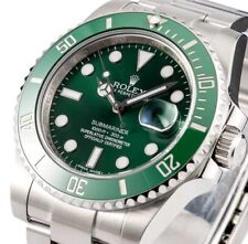 """Green Rolex Submariner 116610LV """"HULK"""" with BOX & papers!"""
