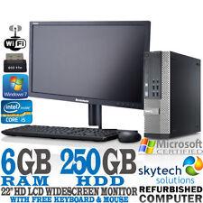 """PCs de sobremesa y todo en uno Dell Intel Core 2 22"""""""