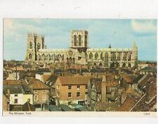The Minster York 1971 Postcard 576a