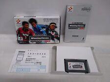 GBA -- Winning Eleven 2002 -- Box. Can data save! Game Boy Advance, JAPAN. 37752