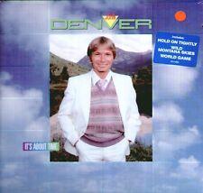 "JOHN DENVER "" IT'S ABOUT TIME "" LP SIGILLATO  RCA 1983 U.S.A."