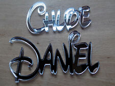 Mirror effect DISNEY Personalised Acrylic Name Plaques childrens wall/door sign