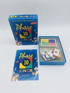 Phase 10 Junior Ravensburger Spiel Gesellschaftsspiel Kartenspiel