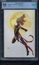 Captain Marvel  1   CBCS  9.8  Virgin  LTD 500