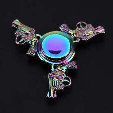 EDC Fidget Alloy Hand Spinner Rainbow Focus ADHD Autism Finger Toy Gyro Gift