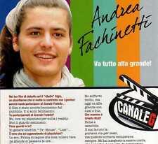 Ga3 Clipping-Ritaglio 2010 Andrea Facchinetti ...va tutto alla grande