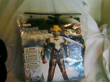 Transformers Bumblebee Halloween Costume Boys Husky 10 1/2 To 12 1/2 Glows