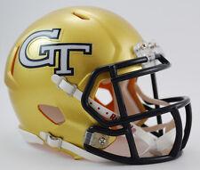 GEORGIA TECH YELLOW JACKETS NCAA Riddell SPEED Authentic MINI Football Helmet