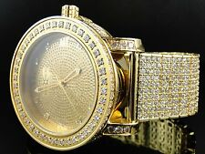 New Mens Khronos/ JoJino / JoJo / Joe Rodeo One Row Bezel Genuine Diamond Watch