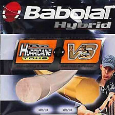 Babolat Pro Hurricane Tour + VS Hybrid 16 Tennis String - Fast Shipping