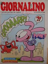 Giornalino 49 1987 Piccolo Dente - Pinky - Snorky + inserto   [C20]