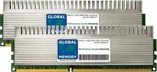 2gb (2x1gb) DDR3 2000MHz PC3-16000 240-PIN Dimm Overclock Pc para Jugar Ram Kit