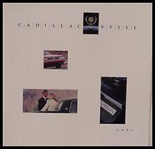 1991 Cadillac Prestige Brochure, Fleetwood Eldorado STS