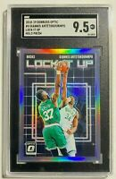 Giannis Antetokounmpo 2018-19 Donruss Optic Lock It Up Holo Prizm SGC 9.5 MT+