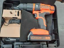 Black & Decker EGBL188K 18v Lithium 2 speed hammer drill