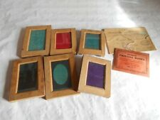 vintage photography darkroom contact printing frames 1910s wooden collection