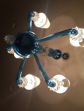 Barovier&Toso chandelier 5 lamp crystal