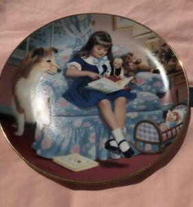 Danbury Mint : Sundays Child Plate: No/ 3673