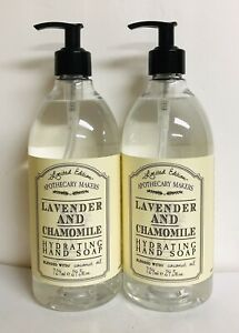 2 Bottles Lavender & Chamomile Hydrating Hand Soap with Coconut Oil 24.5 oz Each