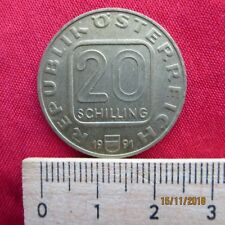 Österreich - Austria 20 Schilling 1980-1997 Sondermünzen -verschiedene Jahrgänge