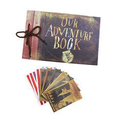 Our Adventure Book Memory DIY Anniversary Scrapbook Photo Album Travel Gift