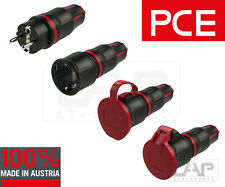 PCE TOPTaurus2 Schuko Prise Couplage Contact de Protection Caoutchouc 250V 16A