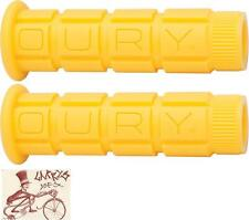 OURY MOUNTAIN YELLOW BMX-MTB BICYCLE GRIPS