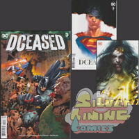 DCEASED #3 Set of Three COVER A + HORROR VARIANT + MATTINA VARIANT DC COMICS